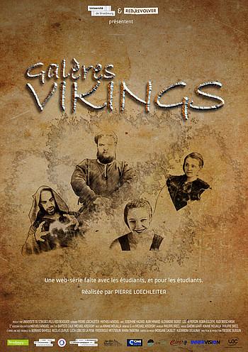 Affiche de la websérie Galères vikings